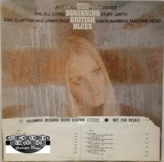 Vintage The Beginning British Blues Promotional Copy First Year Pressing US 1969 Immediate ‎– Z12 52 018 Vinyl LP Record Album