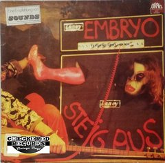 Vintage Embryo Featuring Jimmy Jackson Steig Aus First Year Pressing 1973 Germany Import Brain 1023 Metronome 1023 Vintage Vinyl LP Record Album