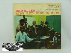 Vintage Red Allen Ride Red Ride In Hi-Fi First Year Pressing RCA Victor LPM-1509 Vintage Vinyl LP Record Album