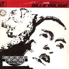 Vintage Billie Holiday A Rare Live Recording Of Billie Holiday 1964 US Recording Industries Corp. M 2001 Vintage Vinyl LP Record Album