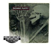 "Vintage Skinny Puppy Remission 12"" 45 RPM MiniAlbum First Year Pressing Canada Nettwerk NTM-6301 1986 VG+ Vintage Vinyl LP Record Album"