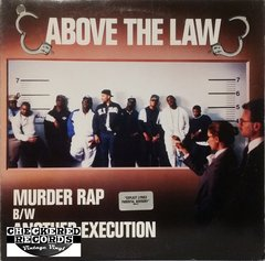 Vintage Above The Law Murder Rap B/W Another Execution First Year Pressing 1990 US Ruthless Records 49 73155 Vintage Vinyl LP Record Album