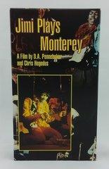 Vintage Jimi Hendrix Jimi Plays Monterey 1987 US Rhino Home Video R3 2354 Vintage VHS Video Cassette Tape