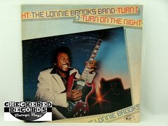 Vintage Lonnie Brooks Turn On The Night Alligator Records AL 4721 1981 NM Vintage Vinyl LP Record Album