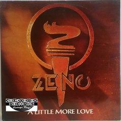 """Vintage Zeno A Little More Love 12"""" 1986 UK Import Parlophone 12R 6123 Vintage Vinyl LP Record Album"""