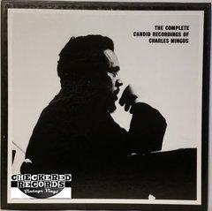 Vintage Charles Mingus The Complete Candid Recordings Of Charles Mingus 4 Album Limited Edition Box Set 1985 US Mosaic Records MR4-111 Vintage Vinyl LP Record Box Set