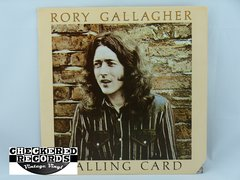 Vintage Rory Gallagher Calling Card First Year Pressing Chrysalis CHR 1124 1976 NM Vintage Vinyl LP Record Album
