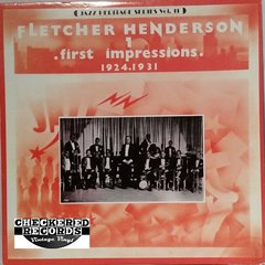 Vintage Fletcher Henderson First Impressions (1924-1931) Jazz Heritage Series Vol. 11 1980 US MCA Records MCA-1310 Vintage Vinyl LP Record Album