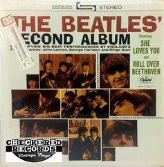 Vintage The Beatles The Beatles' Second Album 1975 US Repress Apple Records ST-2080 Vintage Vinyl LP Record Album