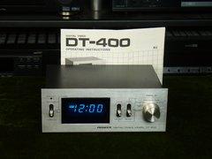 Vintage Pioneer DT-400 500 Watt Max Fluoroscan Digital Audio Timer With Original Manual