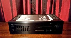 Vintage Yamaha AV-80Y Audio Video Amplifier With Manual With Phono Turntable Hook Up Tested