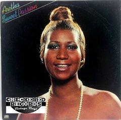 Vintage Aretha Franklin Sweet Passion First Year Pressing RI 1977 US Atlantic SD 19102 Vintage Vinyl LP Record Album
