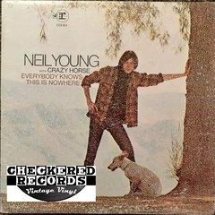 Vintage Neil Young With Crazy Horse Everybody Knows This Is Nowhere 1975 US Reprise Records RS 6349 Vintage Vinyl LP Record