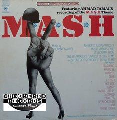 Vintage Johnny Mandel MASH Original Soundtrack Recording First Year Pressing 1973 US Columbia Masterworks S 32753 Vintage Vinyl LP Record Album