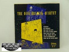 Vintage The Dave Brubeck Quartet The Dave Brubeck Quartet Self-Titled Blue Vinyl First Year Pressing Fantasy F-5213 1952 VG+ Vintage Vinyl LP Record Album
