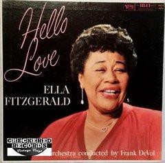 Vintage Ella Fitzgerald Hello Love First Year Pressing 1959 US Verve Records MG V-4034 Vintage Vinyl LP Record Album