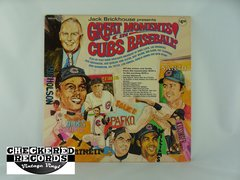 Vintage Jack Brickhouse Presents Great Moments In Cubs Baseball Major Official Productions 839A-2314 NM Vintage Vinyl LP Record Album