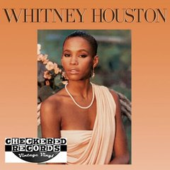 Vintage Whitney Houston Self Titled Whitney Houston First Year Pressing 1985 US Arista AL8-8212 Vintage Vinyl LP Record Album