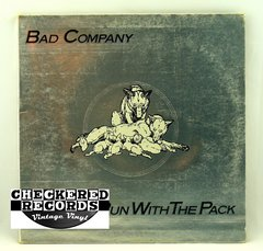 Vintage Bad Company Run With The Pack Swan Song SS 8415 1976 NM- Vintage Vinyl LP Record Album