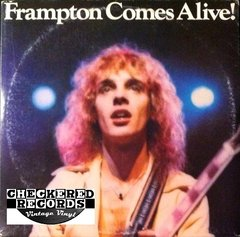 Vintage Peter Frampton Frampton Comes Alive! First Year Pressing 1976 US A&M SP-3703 Vintage Vinyl LP Record Album