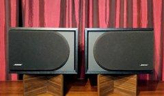 Vintage Bose 2.2 Series II Direct Reflecting Stereo Speakers Bookshelf Speakers