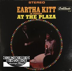 Vintage Eartha Kitt In Person At The Plaza First Year Pressing 1965 US GNP Crescendo GNPS 2008 Vintage Vinyl LP Record Album
