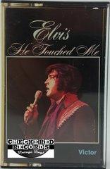 Vintage Elvis Presley He Touched Me 1981 US RCA Victor PK-1923 Vintage Cassette Tape
