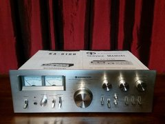 Vintage 1977 Kenwood KA-9100 DC Stereo Integrated Amplifier With Original Instruction Manual & Service Manual