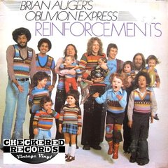 Vintage Brian Auger's Oblivion Express Reinforcements First Year Pressing 1975 US RCA Victor APL1-1210 Vinyl LP Record Album