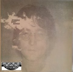 Vintage John Lennon Plastic Ono Band With The Flux Fiddlers Imagine First Year Pressing 1971 US Apple Records ‎SW 3379 Vintage Vinyl LP Record Album