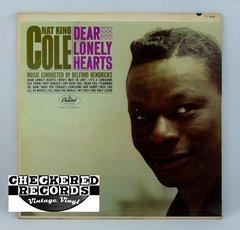 Vintage Nat King Cole Dear Lonely Hearts Capitol US T 1838 1962 NM Vintage Vinyl LP Record Album