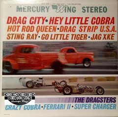 Vintage The Dragsters Drag City / Hey Little Cobra And Other Hot Rod Hits First Year Pressing 1964 US Wing Records SRW 16269 Vintage Vinyl LP Record Album