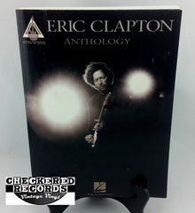Vintage 2002 First Edition Eric Clapton Anthology Guitar Recorded Versions Chappell Intersong Music Group Hal Leonard Soft Cover Book Guitar Book