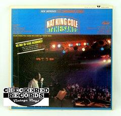 Vintage Nat King Cole Nat King Cole At The Sands Capitol US SMAS 2434 1966 NM Vintage Vinyl LP Record Album