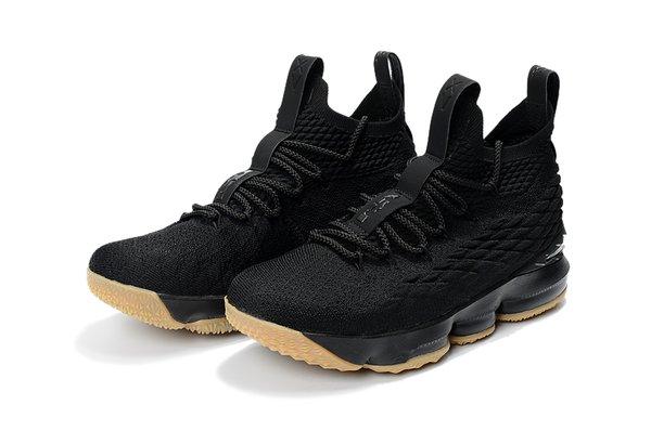 2018 Lebron XV Black & Brown - Lebron James 15 NBA - Basketball sneakers.