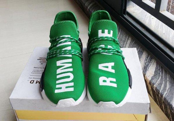 fc4cfdc3025 Adidas NMD Pharrell Human Race Green HU DS US 9.5 ( 1083441