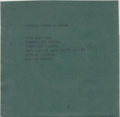 V/A: Songs From A Room Compilation 7""