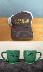 SIMON JOYNER Embroidered Trucker Hat & 7.5 oz Mug COMBO