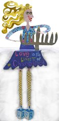 Love is the Light of Chanukah Shelf Sitter