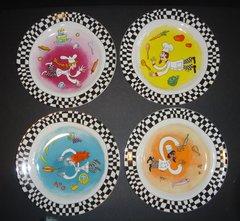 Bistro Plates - Set of 4