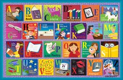 Reading Alphabet Placemat (Set of 4)