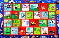 Sports Alphabet Placemat