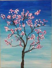 March 25: Cherry Blossom Painting Workshop - Parent/Child