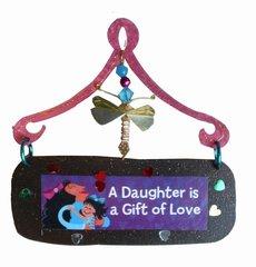 Daughter Mini Plaque