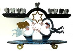 Small Wedding Menorah