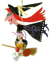 Witch Fanciful Flight (Batty Witch)
