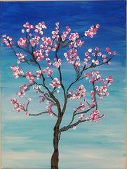 March 25: Cherry Blossom Painting Workshop - Adults