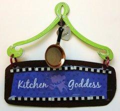 Kitchen Goddess Mini Plaque
