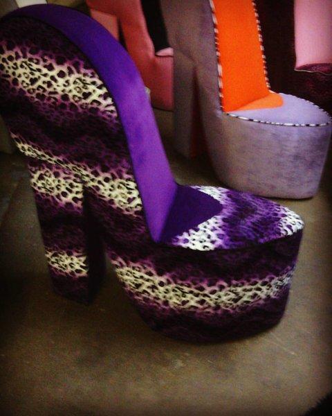 high heel chair | wicked elements sofas, custom sofas, rock star