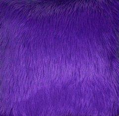 Faux Fur Purple Fabric